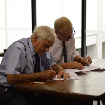 Marton Cricket Club Signing